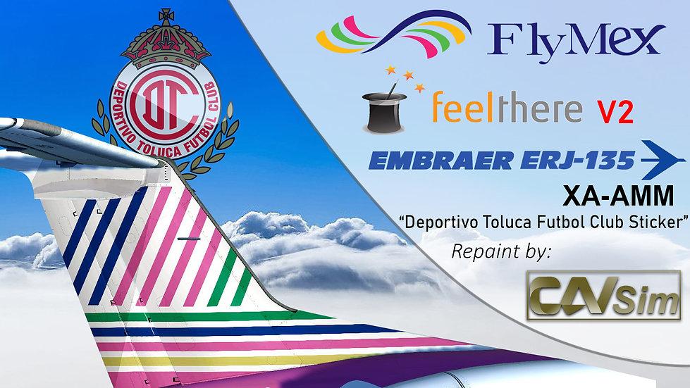Embraer ERJ-135LR Servicios Integrales de Aviación S.A. de C.V. Toluca XA-AMM
