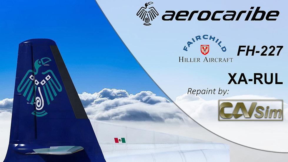 Fairchild Hiller FH-227C Aerocaribe 'Tucan Blue Livery' 'XA-RUL