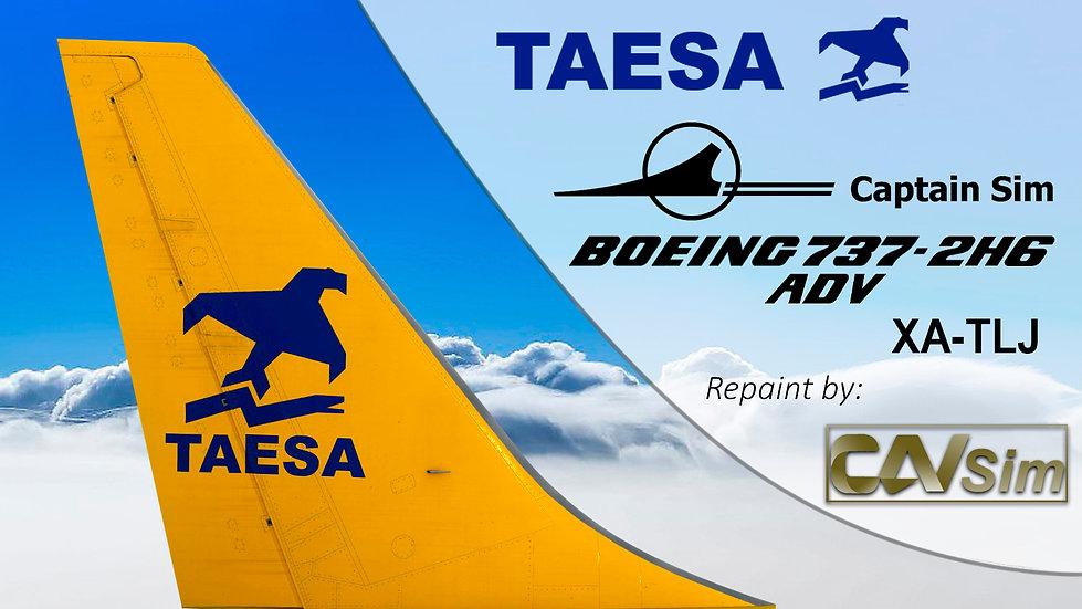 Boeing 737-2H6/ADV Transportes Aéreos Ejecutivos-TAESA 'Yellow Livery' 'XA-TLJ'
