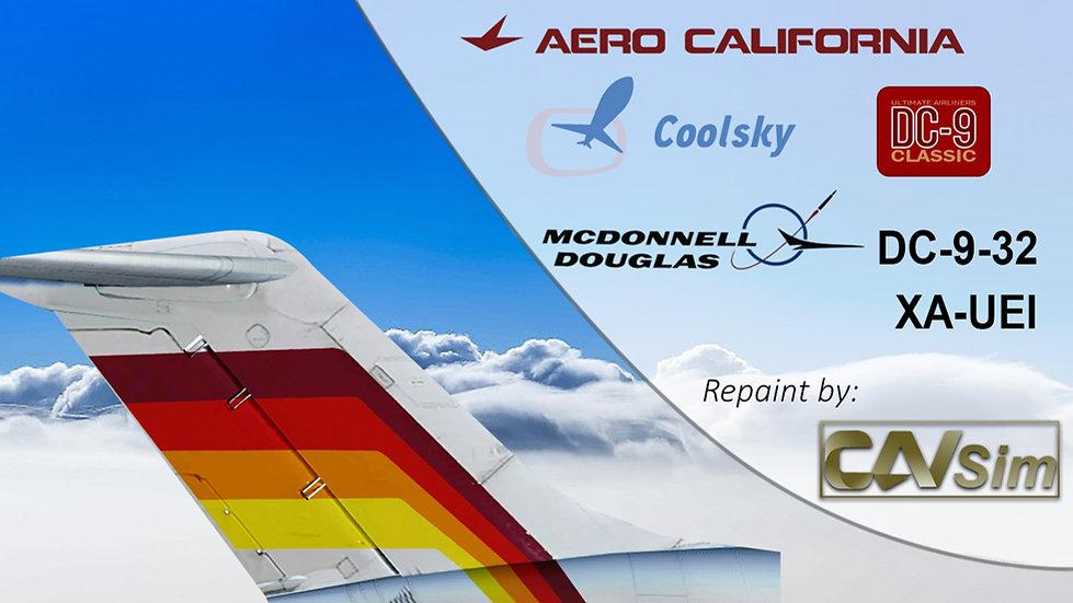 McDonnell Douglas DC9-32 Aerocalifornia SA de CV '90's Livery' 'XA-UEI'