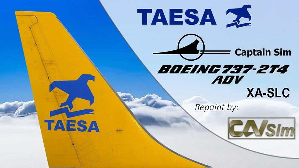 Boeing 737-2T4/ADV Transportes Aéreos Ejecutivos-TAESA 'Tail Yellow' 'XA-SLC'