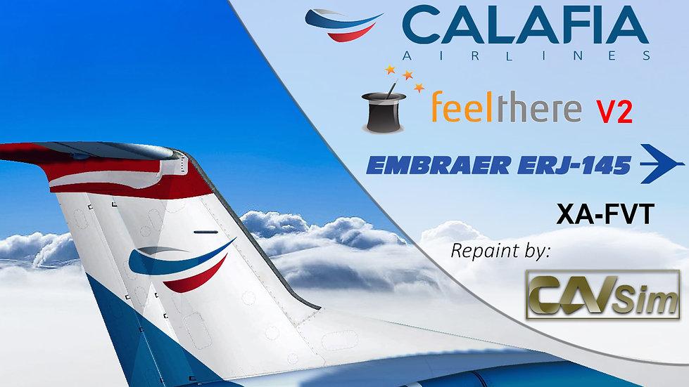 Embraer ERJ-145ER Calafia Airlines 'Last Livery' 'XA-FVT'