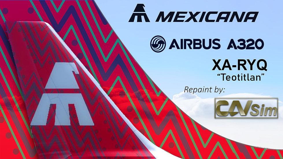 Airbus A320-231 Mexicana 'Teotitlan' 'XA-RYQ'