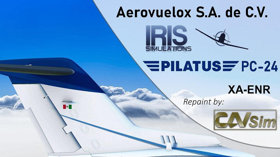 Pilatus Aircraft Ltd. Pilatus PC-24 SVJ Aerovuelox, SA de CV 'XA-ENR'