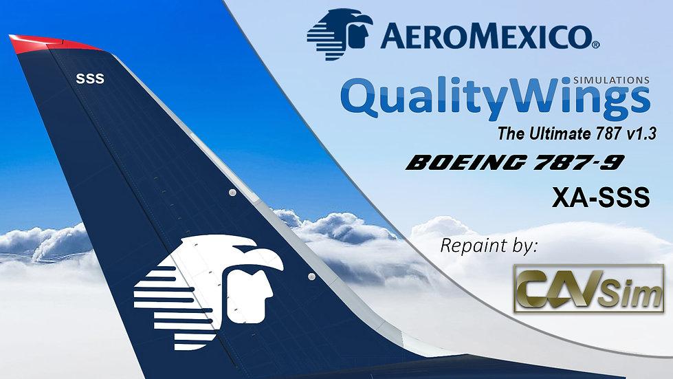 B787-9 AeroMexico 'Last Livery' 'XA-SSS'