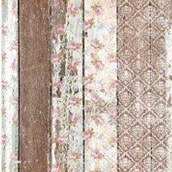 Pallet Wood Pattern Ornate Rice Decoupage