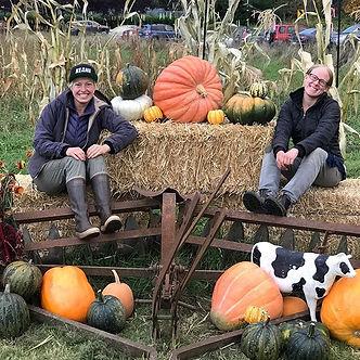 Family portraits, stacks of pumpkins, ci