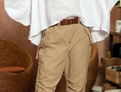 Bellows Linen Shirt
