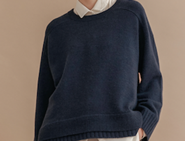 Double Hem Sweater