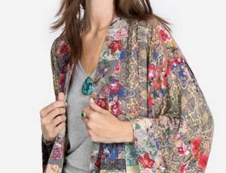 Flora Reversible Kimono