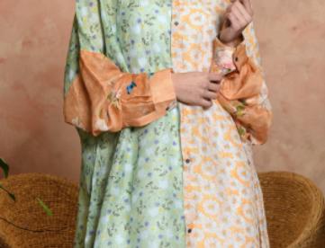 Funnel Shirt Dress