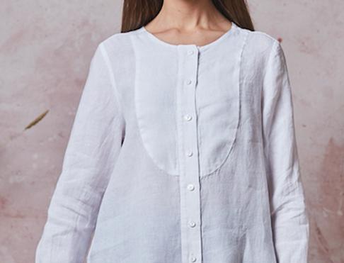 Linen Cuff Shirt