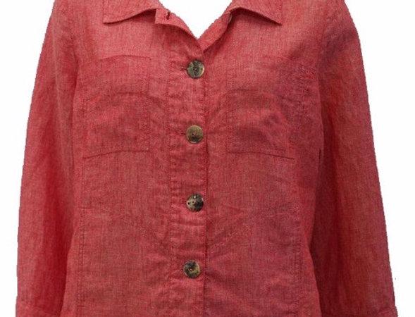Linen Box Jacket