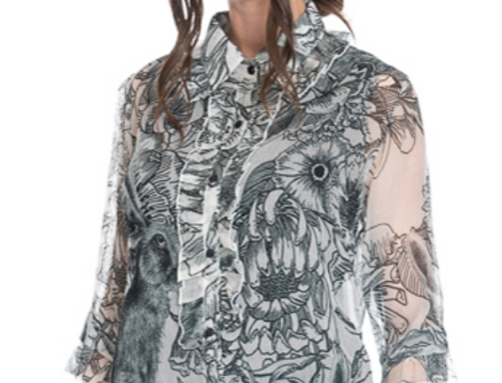 Rabbit Silk Shirt