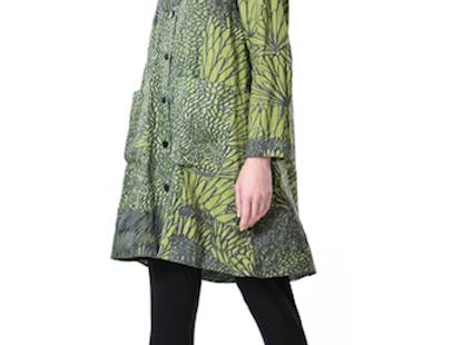 Grassy Birdie Coat