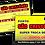 Thumbnail: 250 ADESIVO TROCA DE ÓLEO ELETROSTÁTICO (4x4 cores)