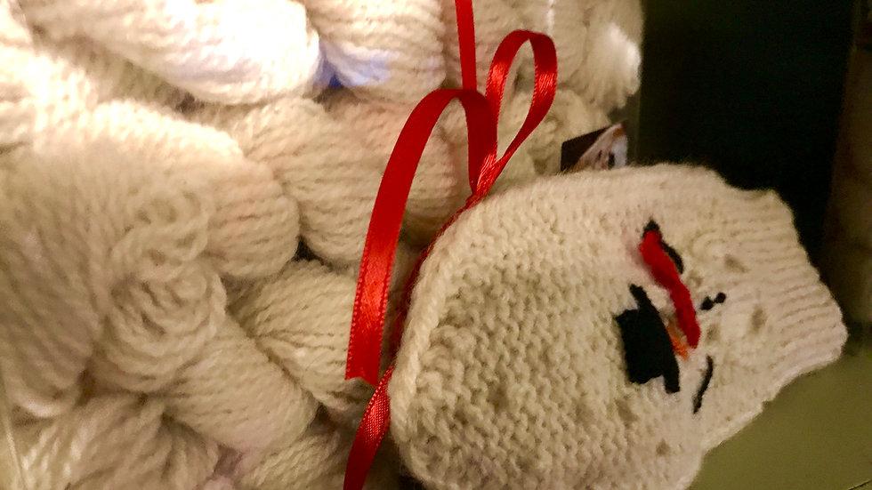 Snowman Mitten Kit