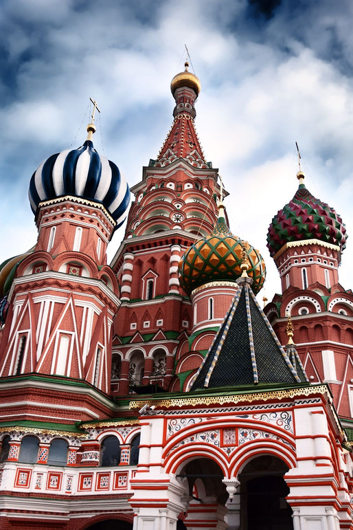 Wanderlust Wednesday: St. Basil's Cathedral, Moscow, Russia