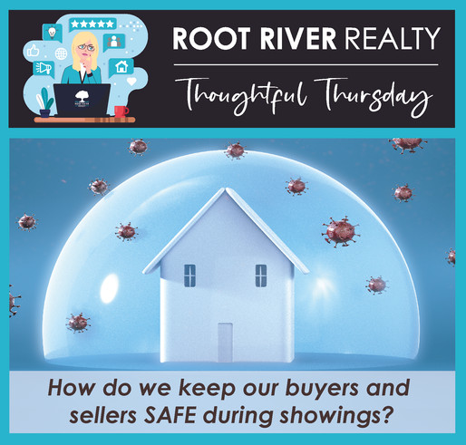 Top tips on how we keep the buyers and sellers safe while conducting showings