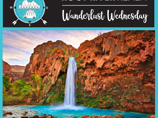 Wanderlust Wednesday: Havasu Falls, Arizona