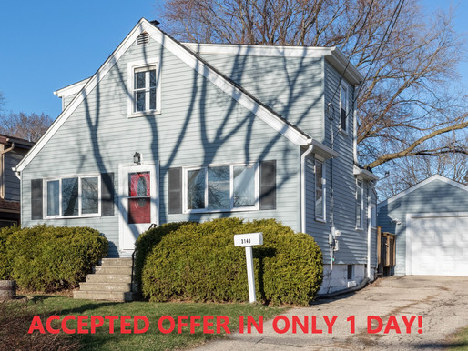 ACCEPTED OFFER IN ONLY 1 DAY!