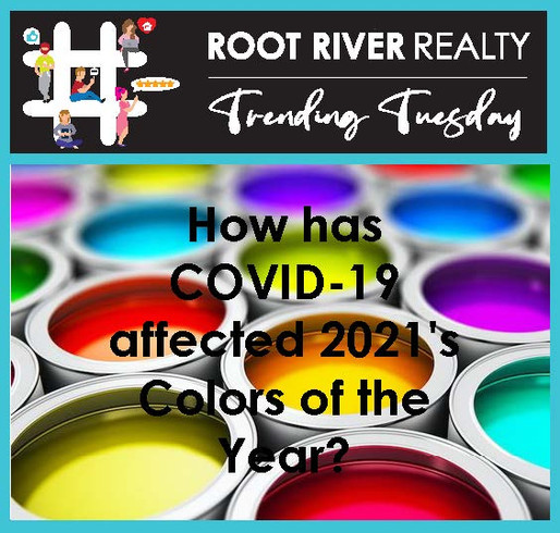 Trending Tuesday:  How has COVID-19 affected 2021's Colors of the Year?