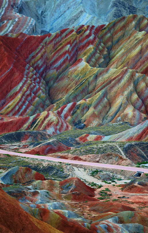 Wanderlust Wednesday: Zhangye Danxia Geopark, China