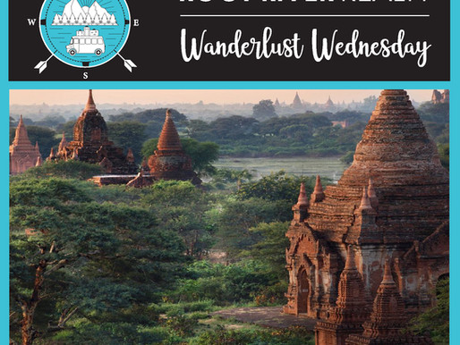 Wanderlust Wednesday: Bagan, Myanmar