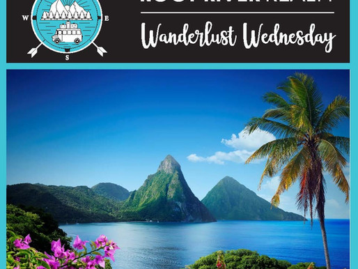 Wanderlust Wednesday: Pitons, St. Lucia