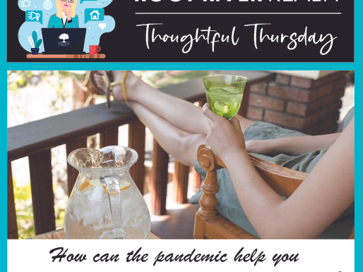 Thoughtful Thursday: How can the pandemic help you rediscover the favorite part of your house?
