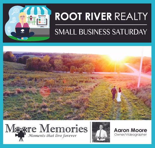 Small Business Saturday: Moore Memories, Aaron Moore - Owner & Videographer