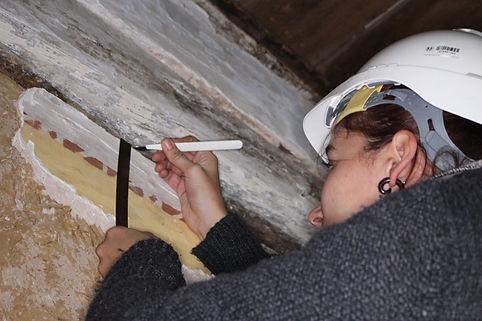 archéologie état des lieux réhabilitation chambre d'hôte