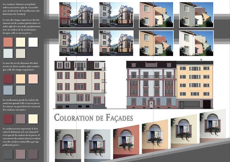 coloration de façade couleur neudorf strasbourg