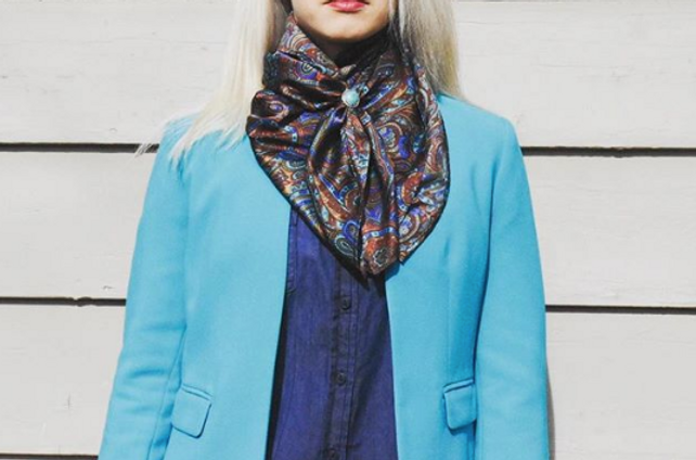 Turquoise Dark Denim Blue And The Variation Of Blues In Wildrag Make This Analogous Color Scheme On Point