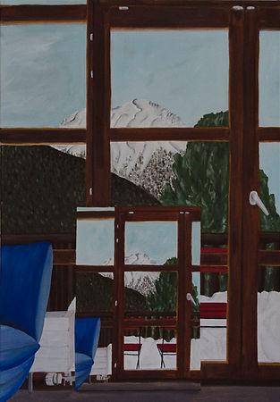 Ein Bild, 2018, Öl auf Leinwand, 77x115 cm