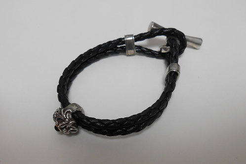Arabesque Leather Bracelet