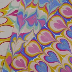 Ebru Kocak// Marbled Patterns