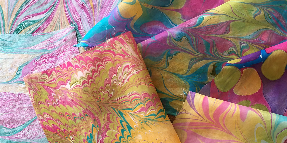 Fabric Marbling Workshop