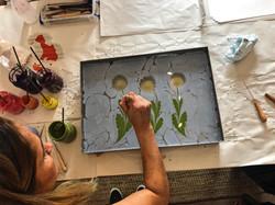 Flowers Workshop// SurreyArtSchool