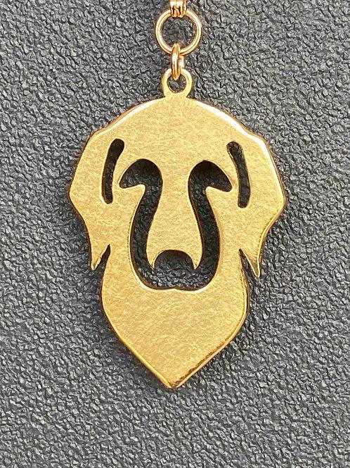 真鍮モチーフ・ゴールデン(両面モザイク)