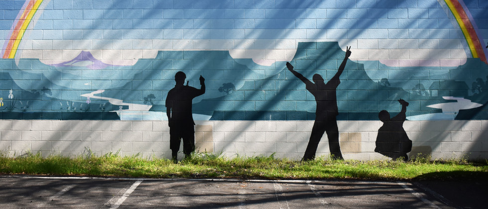 Around the corner, find one of Chico's many downtown murals