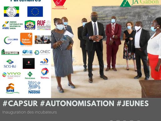 """""""Cap sur l'autonomisation des jeunes"""" Lancement officiel des activités de l'incubateur de Mouila."""