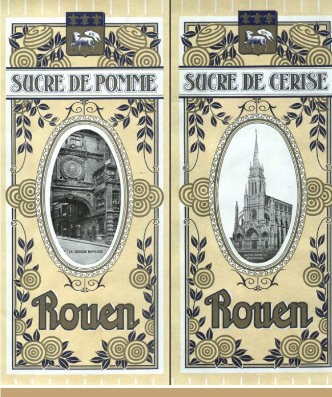 Ancien emballage du Sucre de Pomme