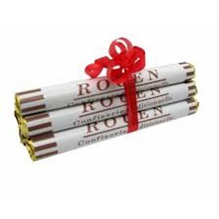 Paquet de 6 sucres de Rouen saveur pomme N°20