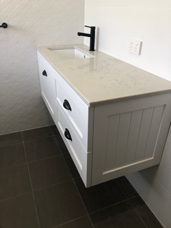 Oakvale Way Project - Bathroom renovation Adelaide Hamptons style by Bathe Room
