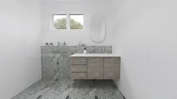 3D bathroom design by Bathroom Designer Ally Pettifor for a renovation in Adelaide