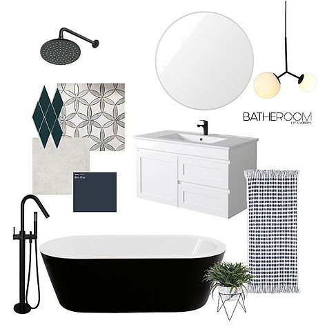 A contemporary bathroom design concept b