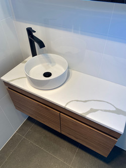 West Beach bathroom renovation vanity