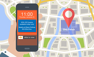 GeoFence Target example