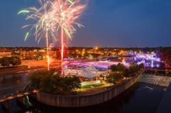 Fireworks and River Lights